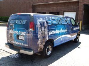 Van Wrap Graphics Construction YAM