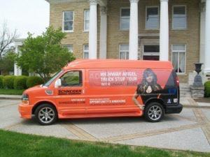 Van Wrap Graphics Custom Schneider SCH