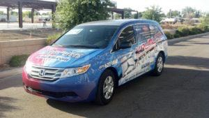 Van Wrap Graphics Dealership KAG