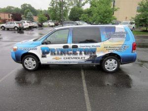 Van Wrap Graphics Dealership MPC
