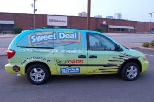 Van Wrap Graphics Dealership RAS Sweet