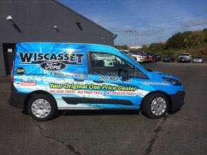 Van Wrap Graphics Dealership Parts PFT2