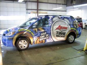 Van Wrap Graphics Dealership Toyota RAS