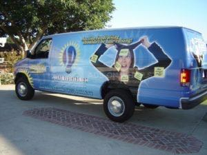 Van Wrap Graphics Debt SPI
