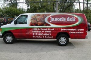 Van Wrap Graphics Deli Franchise JDI