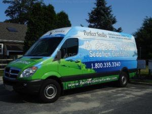 Van Wrap Graphics Dental PSM