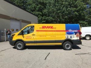 Van Wrap Graphics Dhl Vans