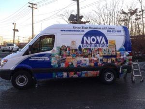 Van Wrap Graphics Distributor NOVA