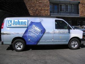 Van Wrap Graphics Dry Cleaner JCL