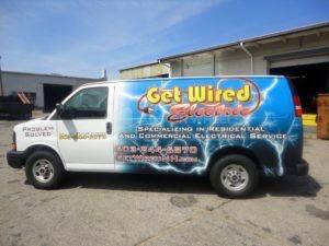 Van Wrap Graphics Electrical GWE