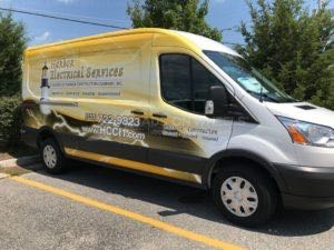 Van Wrap Graphics Electrical HES5