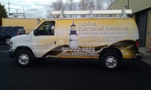 Van Wrap Graphics Electrician HES2