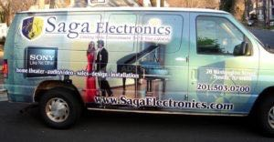 Van Wrap Graphics Electronics SAG