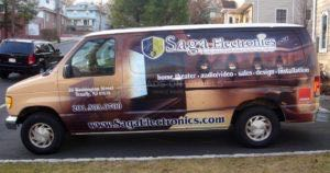 Van Wrap Graphics Electronics SAG2