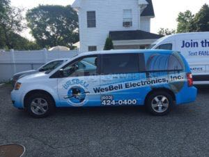 Van Wrap Graphics Electronics WES