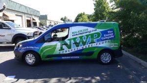 Van Wrap Graphics Energy Fuel NWP