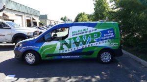 Van Wrap Graphics Energy Fuel NWP