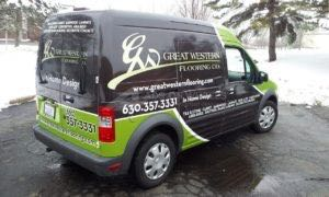 Van Wrap Graphics Flooring GWF