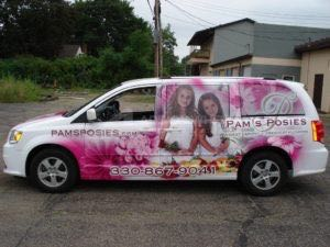 Van Wrap Graphics Florist GRF2