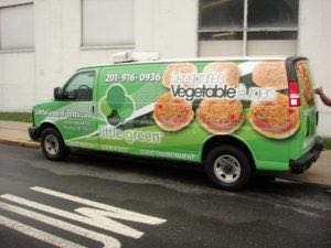 Van Wrap Graphics Food LGF