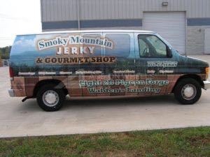 Van Wrap Graphics Food SMJ