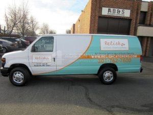 Van Wrap Graphics Food Partial RLSH