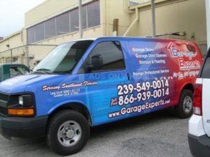 Van Wrap Graphics Garage GXP