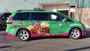 Van Wrap Graphics Girl Scounts GSGW