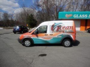 Van Wrap Graphics Glass OCG5