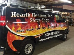 Van Wrap Graphics Hearth Stone HRTH