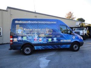 Van Wrap Graphics Home Audio HTC