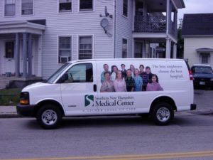 Van Wrap Graphics Hospital SNMH