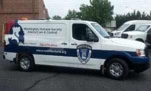 Van Wrap Graphics Humane Society WHS