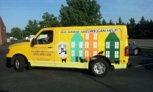Van Wrap Graphics Humane Society WHS2