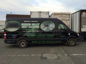 Van Wrap Graphics Hvac HVM