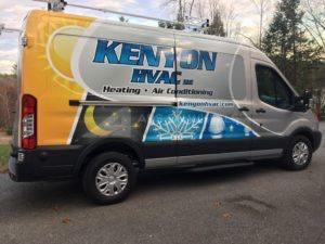Van Wrap Graphics Hvac KYN
