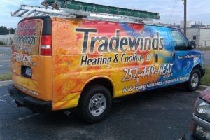 Van Wrap Graphics Hvac Heating Air Conditioning THC