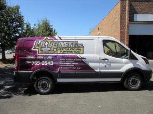 Van Wrap Graphics Hvac Partial LRB