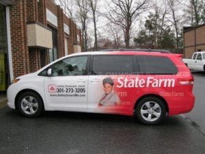 Van Wrap Graphics Insurance SF AD