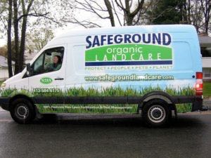 Van Wrap Graphics Landscaping SOL