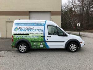 Van Wrap Graphics Lawn Irrigation NELI