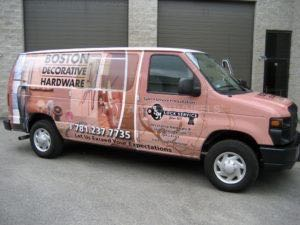 Van Wrap Graphics Locksmith LML