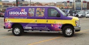 Van Wrap Graphics Logo Land LEG
