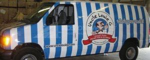 Van Wrap Graphics  Louie