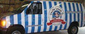 Van Wrap Graphics Louie