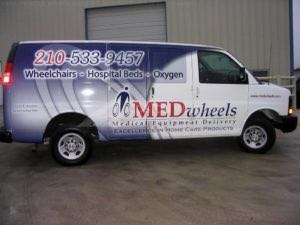 Van Wrap Graphics Medical MED
