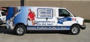 Van Wrap Graphics Medical TMC