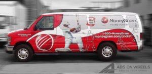 Van Wrap Graphics Moneygram