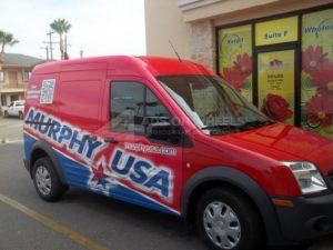 Van Wrap Graphics Murphy Usa MURP