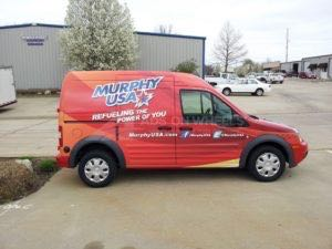 Van Wrap Graphics Murphys Oil MUR SB